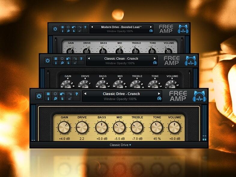Blue Cat Audio Releases Free Guitar Amp Effect Plugin