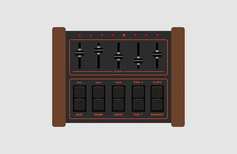 free lm 1 drum machine rack for ableton released at elphnt. Black Bedroom Furniture Sets. Home Design Ideas