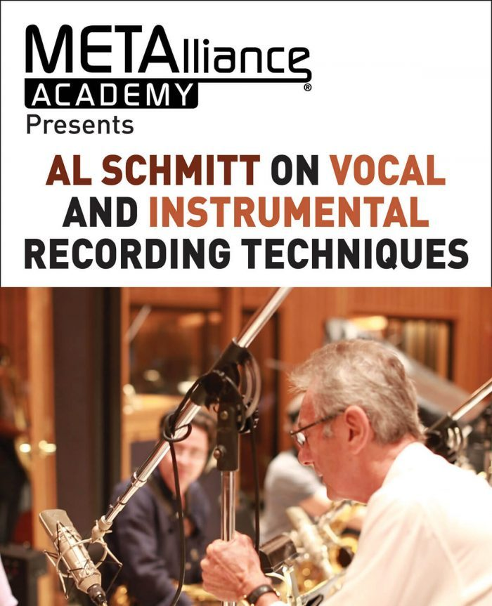 Hal Leonard Al Schmitt on Vocal and Instrumental Recording Techniques