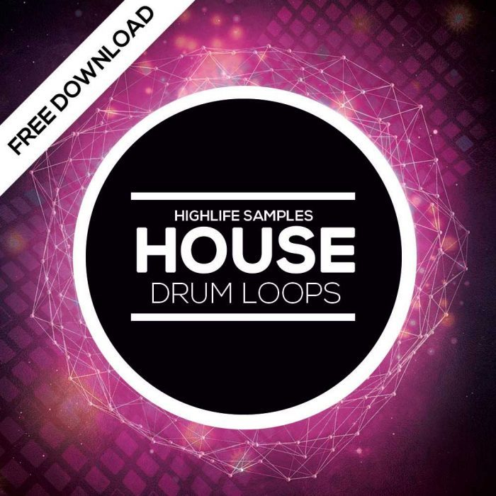 HighLife Samples House Drum Loops