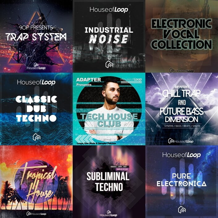 House of loop sample packs by adapter 90p more at for Classic house sample pack
