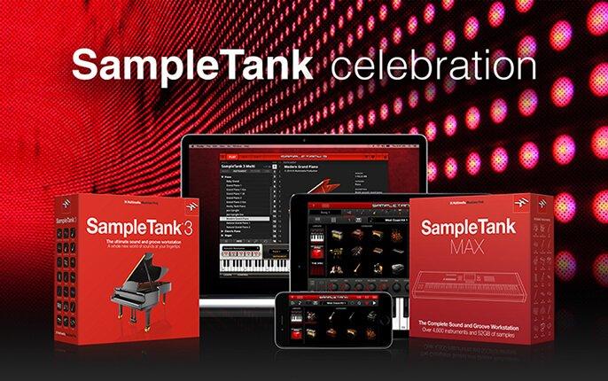 IK Multimedia SampleTank Celebration