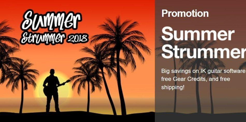 IK Multimedia Summer Strummer Special feat