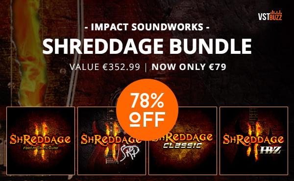 Impact Soundworks Shreddage Bundle sale