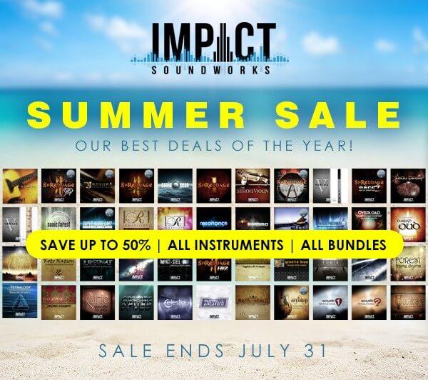 Impact Soundworks Summer Sale 2018