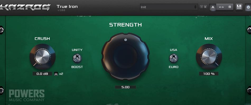 Kazrog True Iron