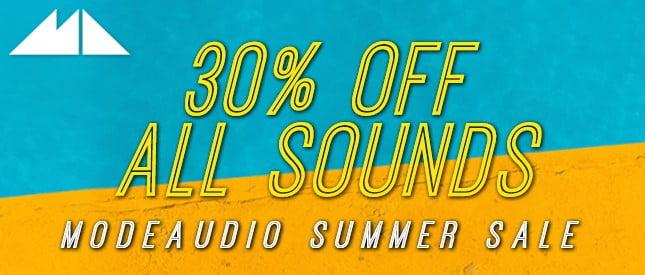ModeAudio Summer Sale 2018