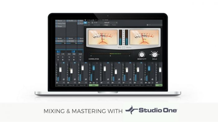On Track Mixing and Mastering with Presonus Studio One