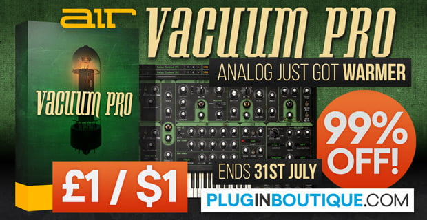 AIR Vacuum Pro synth 99% off