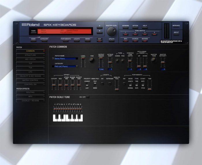 Roland Cloud SRX KEYBOARDS