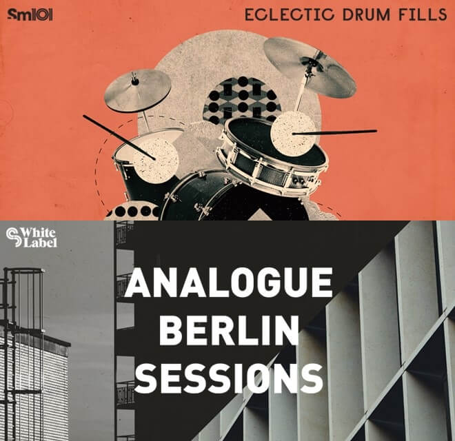 Sample Magic Eclectic Drum Fills & Analogue Berlin Sessions