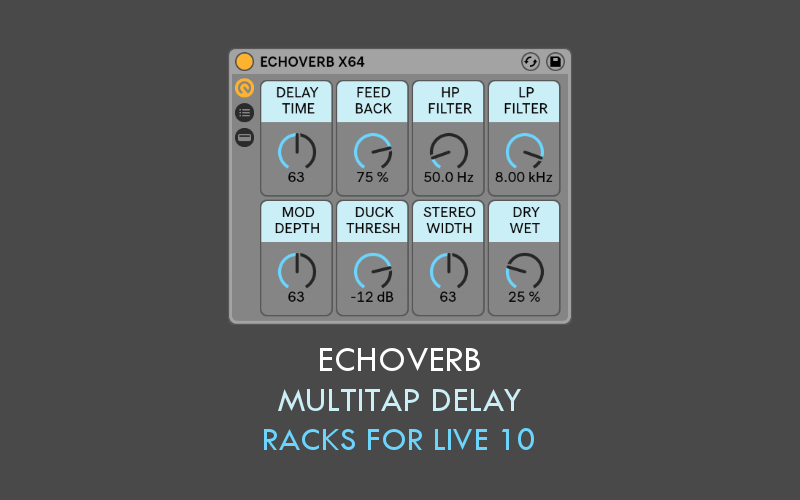 Sound Author EchoVerb for Ableton Live 10