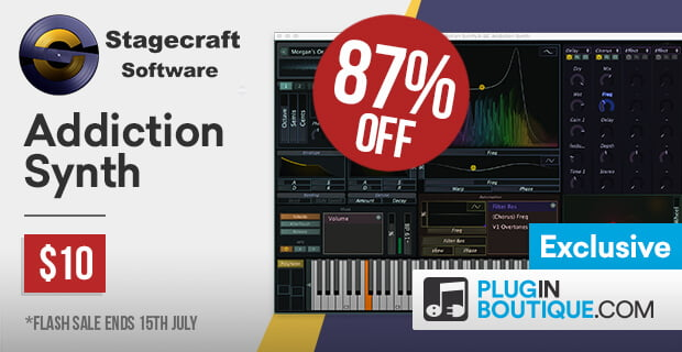 Stagecraft Addiction Synth Sale