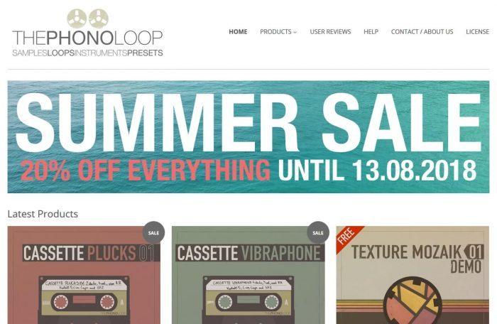 THEPHONOLOOP Summer Sale 2018