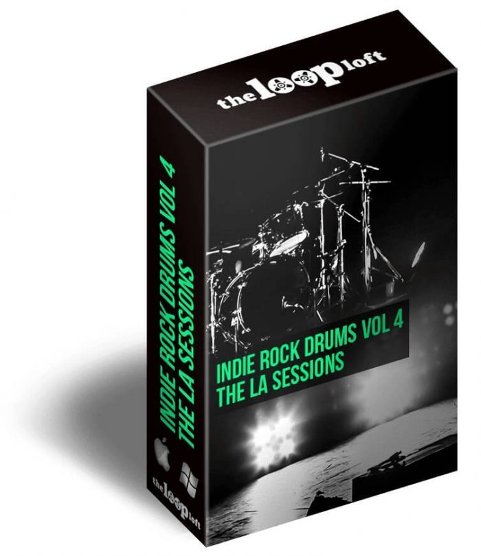 The Loop Loft Indie Rock Drums Vol 4 The LA Sessions