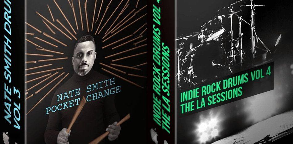 The Loop Loft Nate Smith Vol 3 & Indie Rock Drums Vol 4