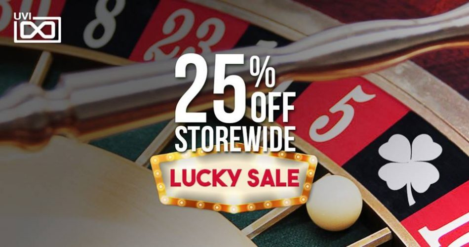 UVI Lucky Sale 25 off