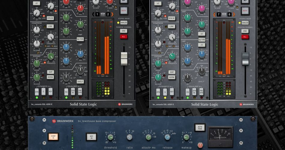 bx console SSL 4000 E & G and bx townhouse Buss Compressor