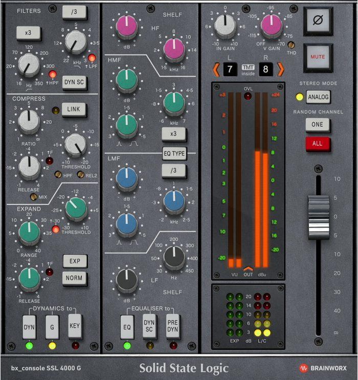 bx console ssl 4000 g