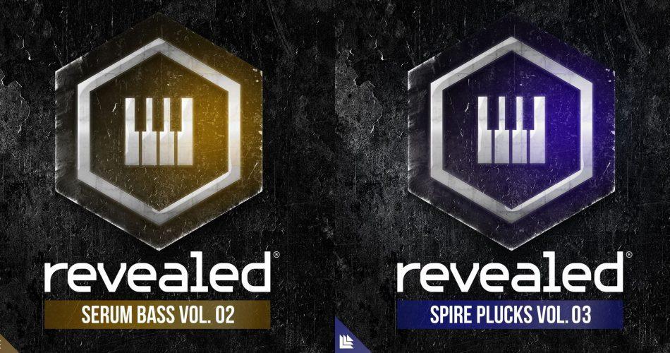 Revealed Serum Bass Vol 2 & Spire Plucks Vol 3