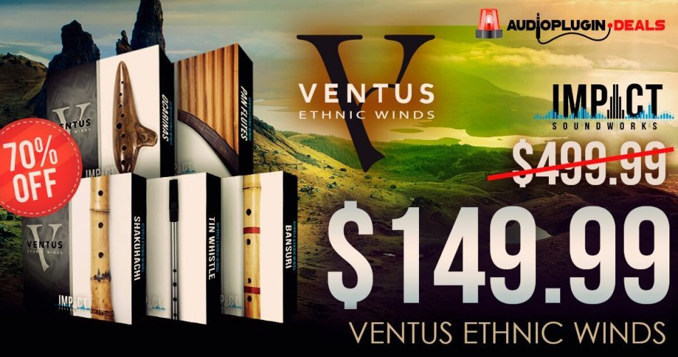 Audio Plugin Deals ISW Ventus Bundle feat
