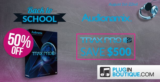 Audiomanix BackToSchool Trax Pro 3