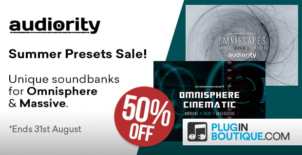 Audiority Summer Sale sound libraries 50