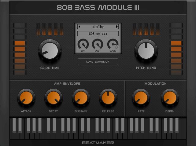 BeatMaker 808 Bass Module III