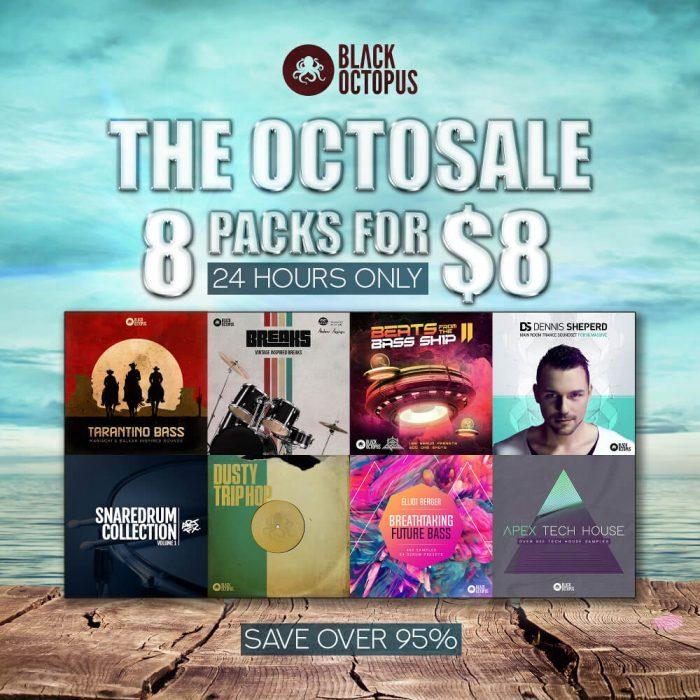 Black Octopus 8 packs for 8 USD
