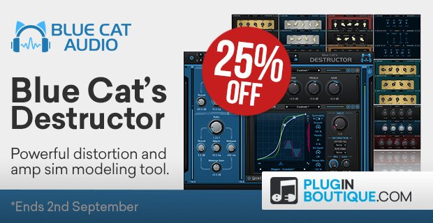 Blue Cat Audio Destructor 25 off