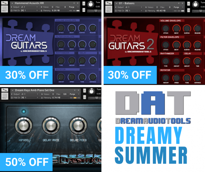 Dream Audio Tools Dreamy Summer Sale