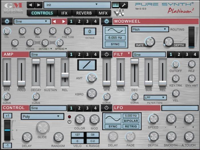 Gospel Musicians Pure Synth Platinum 2