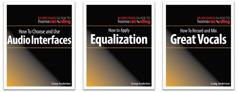 Hal Leonard Craig Anderton Musicians Guide to Home Recording