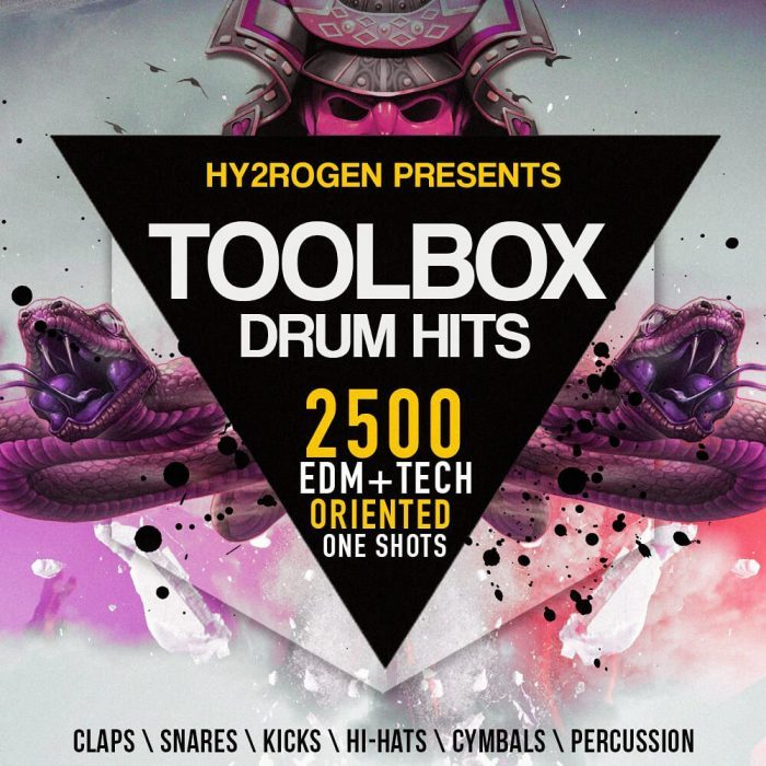 Hy2rogen Toolbox Drum Hits