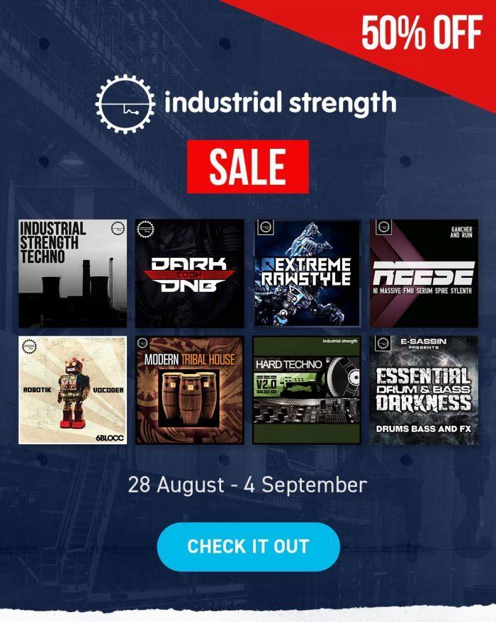 Industrial Strength Sale