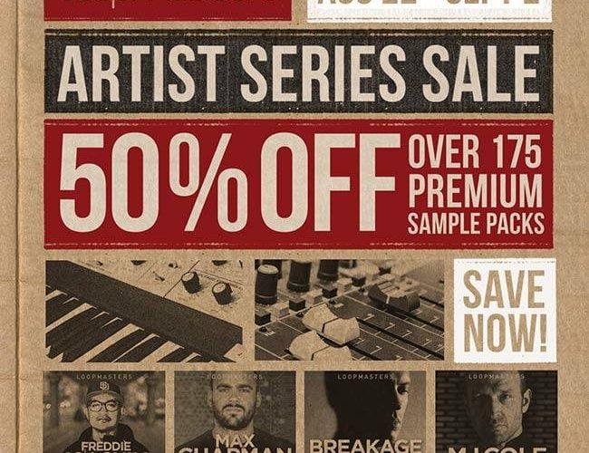 Loopmasters Artist Series Sale 50 OFF
