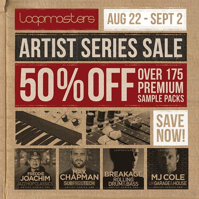 Loopmasters Artist Series Sale 50 OFF