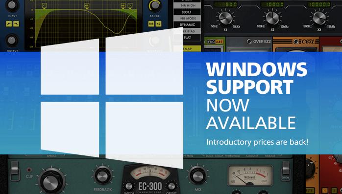 McDSP Windows v3