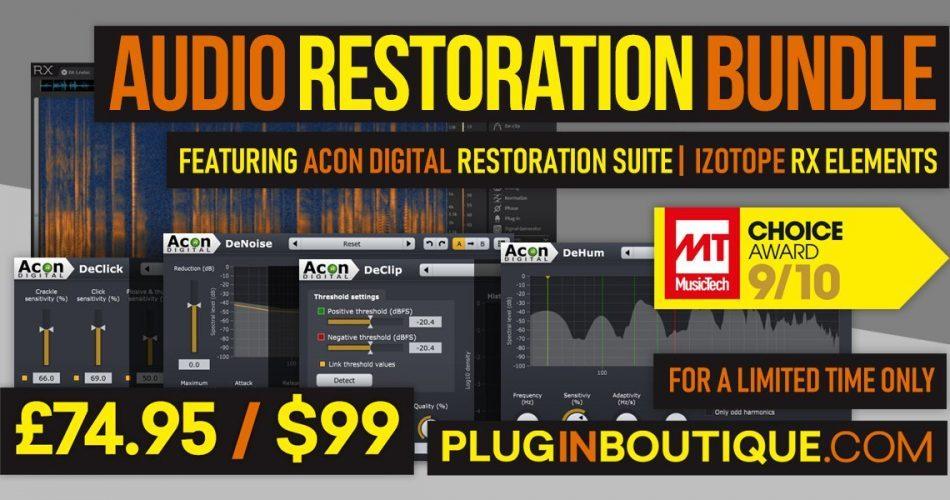 Plugin Boutique Audio Restoration Bundle