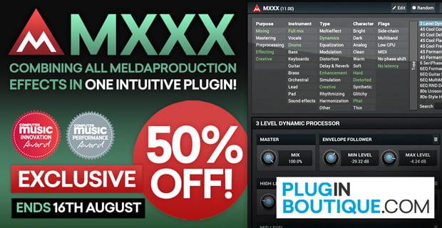 Plugin Boutique MXXX 50 off sale