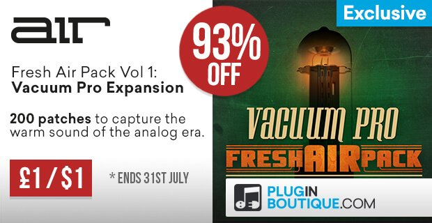 Plugin Boutique Vacuum Pro Fresh Expansion sale
