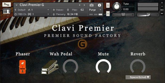 Premier Sound Factory Clavi Premier G
