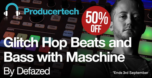 ProducerTech Glitch Hop Beats sale 50