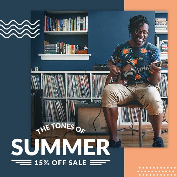 Reverb Tones of Summer Sale