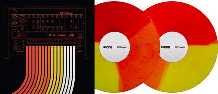 Roland DJ-808 Serato Vinyl