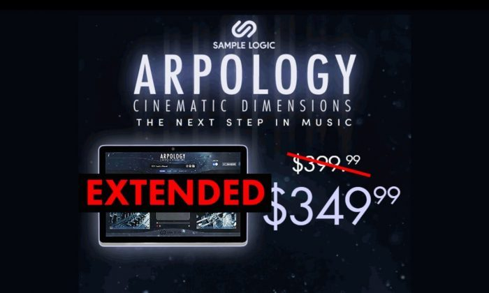 Sample Logic Arpology Cinematic Dimensions extended sale