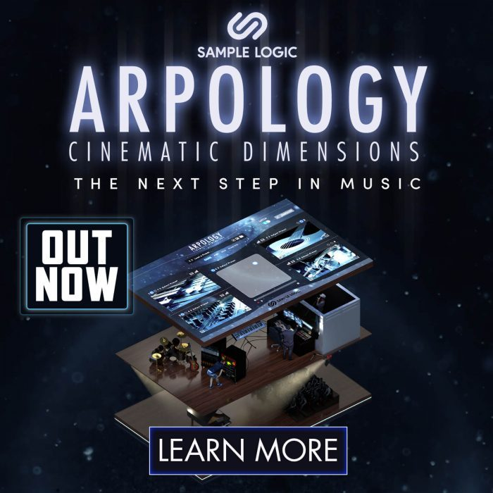 Sample Logic Arpology Cinematic Dimensions out now