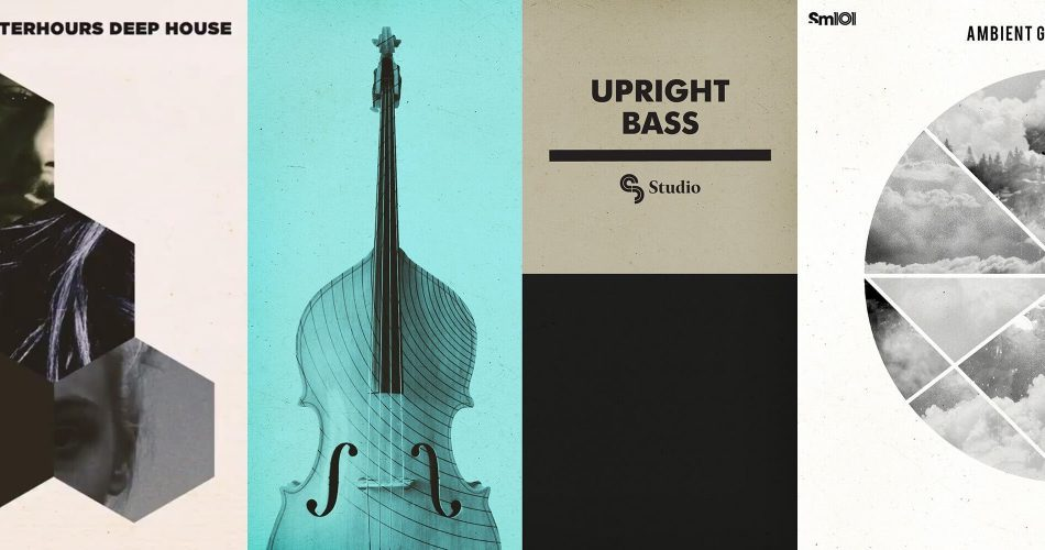 Sample Magic Upright Bass, Ambient Garage Drum Kits & Afterhours Deep House