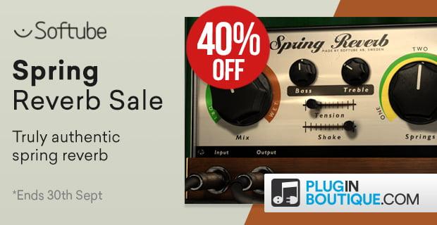 40% off Softube Spring Reverb