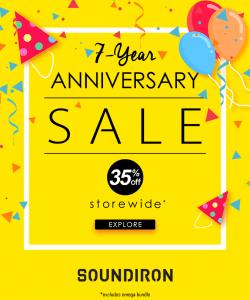 Soundiron 7 Year Anniversary Sale